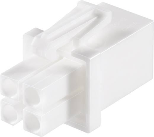 Stiftgehäuse-Kabel Universal-MATE-N-LOK Polzahl Gesamt 4 TE Connectivity 794805-1 Rastermaß: 4.17 mm 1 St.