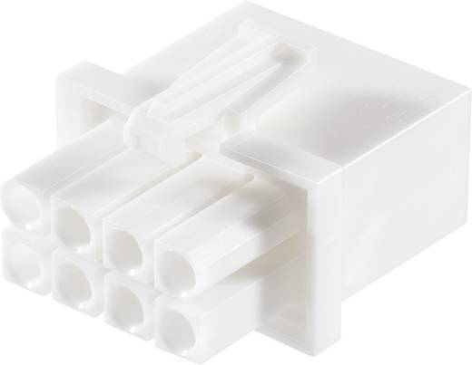 Stiftgehäuse-Kabel Universal-MATE-N-LOK Polzahl Gesamt 8 TE Connectivity 794821-1 Rastermaß: 4.14 mm 1 St.