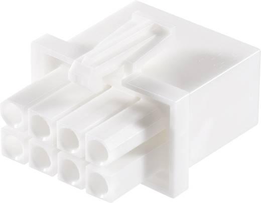 TE Connectivity 794821-1 Stiftgehäuse-Kabel Universal-MATE-N-LOK Polzahl Gesamt 8 Rastermaß: 4.14 mm 1 St.