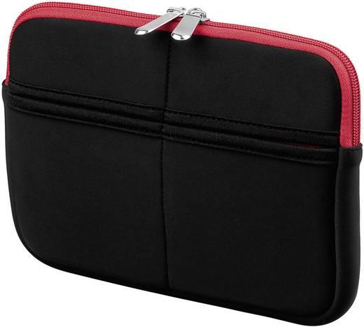 """Goobay Sleeve Tablet Tasche, universal Passend für Display-Größe (Bereich): 17,8 cm (7"""") Schwarz, Rot"""