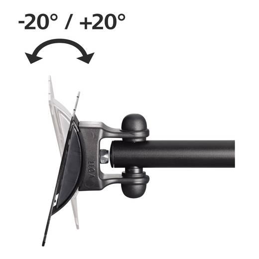 "TV-Wandhalterung 25,4 cm (10"") - 81,3 cm (32"") Neigbar+Schwenkbar Hama ""FULLMOTION"" S 1 Arm"