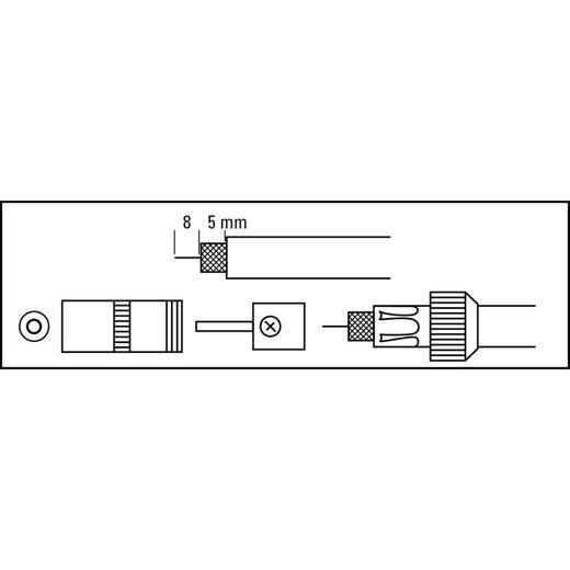 Koax-Buchse, Metall, schraubbar Antenne Steckverbinder Kabel-Durchmesser: 7 mm