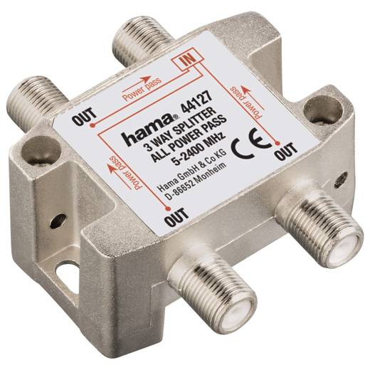 SAT-Verteiler Hama 00043988 3-fach 5 MHz - 2300 MHz