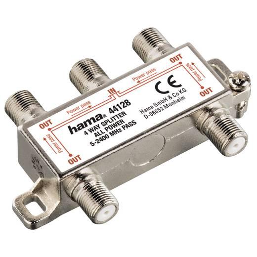 SAT-Verteiler Hama 00044128 4-fach 5 - 2300 MHz