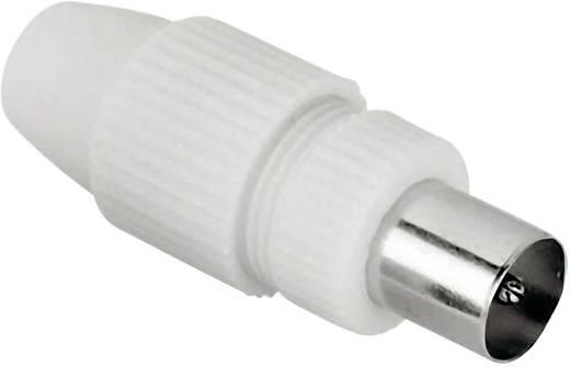 Antennen-Stecker Koax, klemmbar Antenne Steckverbinder Kabel-Durchmesser: 7 mm