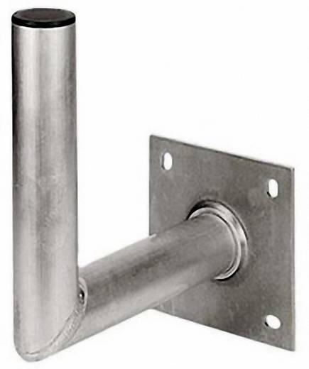 SAT-Wandhalterung Hama 00044175 Wandabstand: 35 cm Passend für Spiegelgröße: Ø bis 90 cm Silber