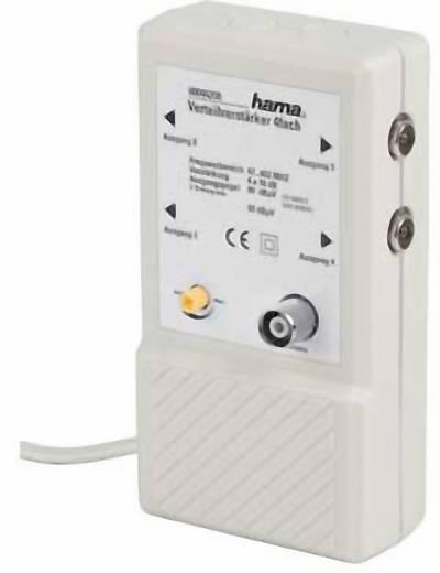 Kabel-TV Verstärker 4-fach Hama 00044200 10 dB