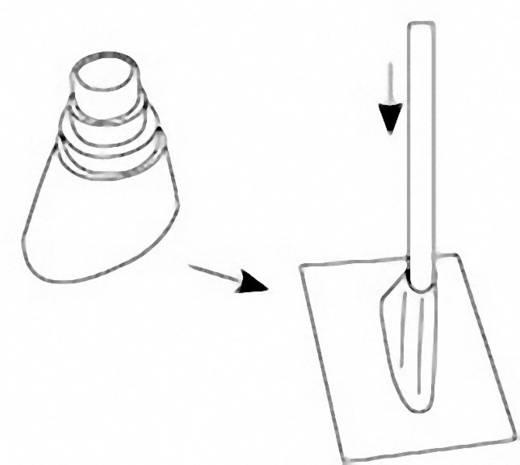 Mast-Gummimanschette Hama 00044209 Passend für Mast-Ø (max.): 60 mm Schwarz