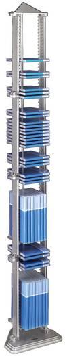 Hama CD Turm 100 CDs, 28 DVDs, 36 Blu-rays Kunststoff Silber 1 St. (B x H x T) 250 x 1420 x 200 mm 00051127