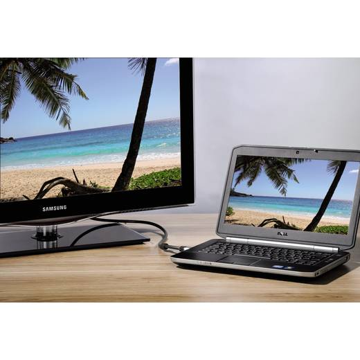 Hama HDMI Anschlusskabel [1x HDMI-Stecker - 1x HDMI-Stecker] 1.8 m Schwarz
