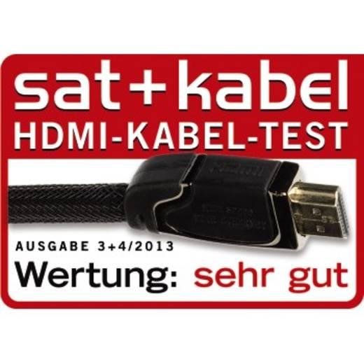 Hama HDMI Anschlusskabel [1x HDMI-Stecker - 1x HDMI-Stecker] 3 m Schwarz