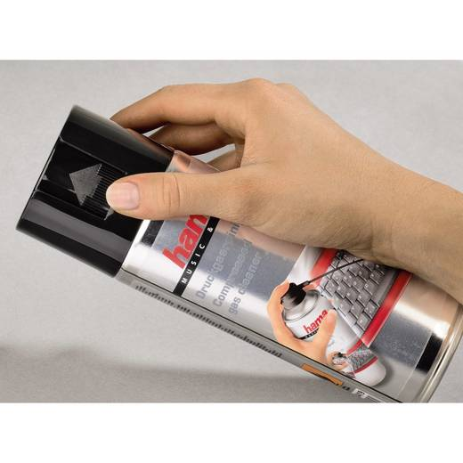 Druckluftspray brennbar Hama 00084419 400 ml
