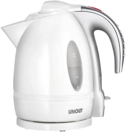 Wasserkocher schnurlos Unold 8250 Weiß, Silber