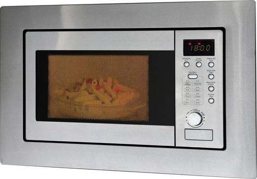 Mikrowelle 800 W Einbaufähig, Grillfunktion Bomann MWG 2215 EB