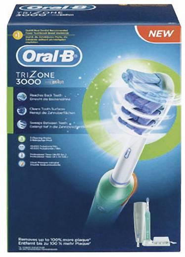 Elektrische Zahnbürste Oral-B Trizone 3000 Drei-Zonen-Tiefenreinigung Weiß, Türkis