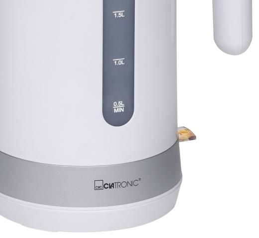 Clatronic WK 3452 Wasserkocher schnurlos Weiß