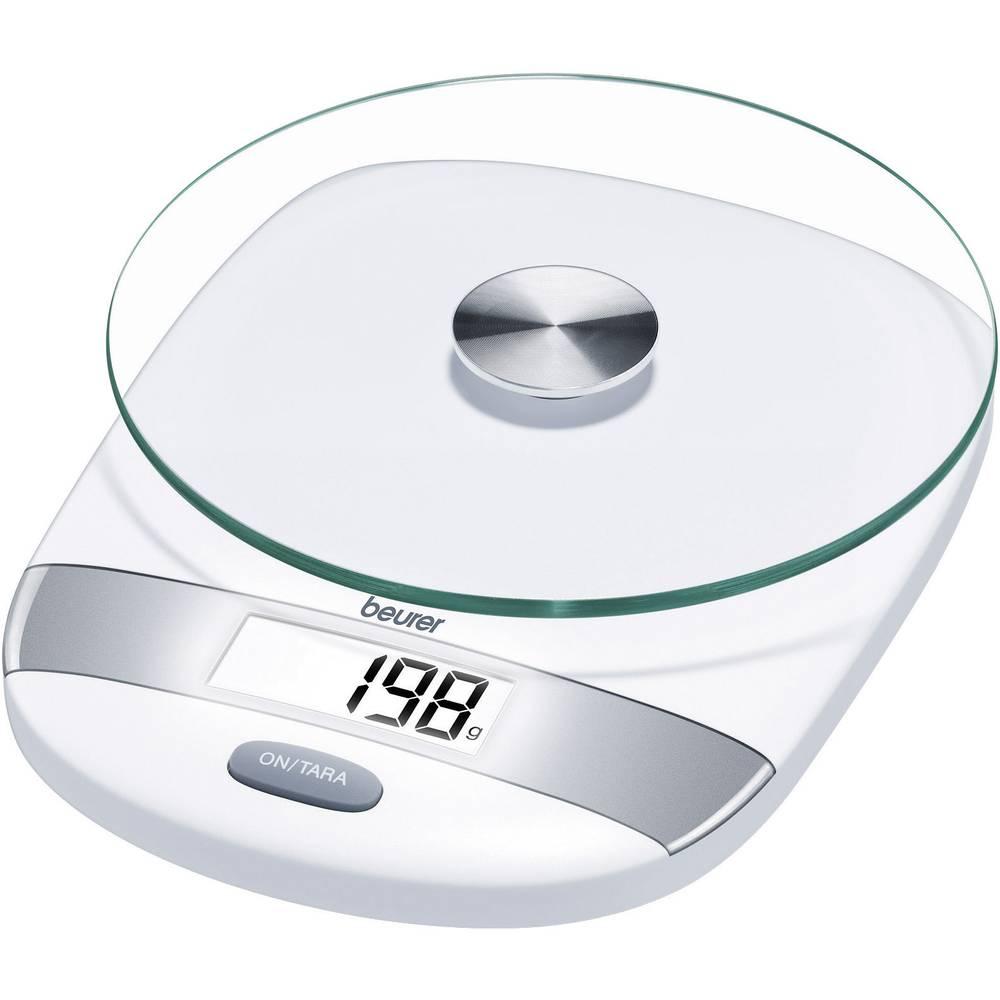 Bilancia da cucina digitale beurer beurer k chenwaage ks 31 silber portata max 5 kg acciaio in - Bilancia da cucina digitale ...
