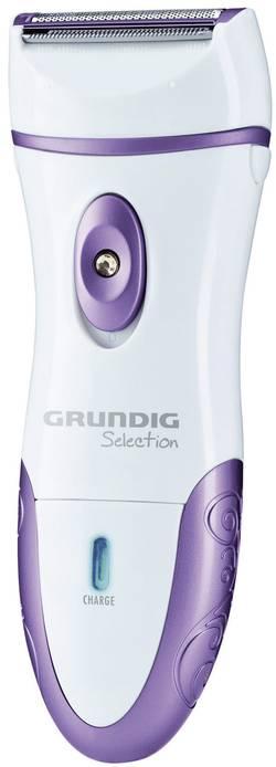 Dámský holící strojek Grundig LS 7140, bílá/fialová