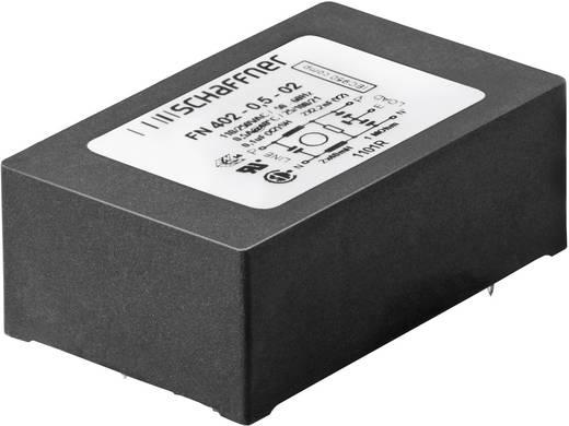 Entstörfilter 250 V/AC 0.5 A 40 mH (L x B x H) 45 x 28 x 16.5 mm Schaffner FN 402-0.5-02 1 St.