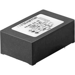 Odrušovací filter Schaffner FN 402-0.5-02 FN 402-0.5-02, 250 V/AC, 0.5 A, 40 mH, (d x š x v) 45 x 28 x 16.5 mm, 1 ks