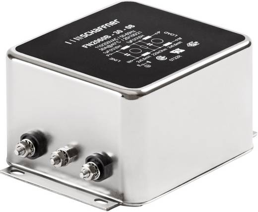 Entstörfilter 250 V/AC 3 A 2.5 mH (B x H) 71 mm x 46.6 mm Schaffner FN 2060-3-06 1 St.