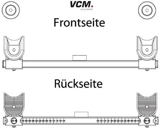 """VCM TV-Wandhalterung """"WF 100"""" 56 - 106,7 cm (22"""" - 42"""") Schwarz"""