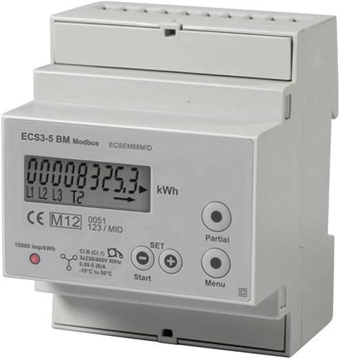Janitza ECSEM68MID ../5A MOD Drehstromzähler mit Wandleranschluss digital 5 A MID-konform: Ja