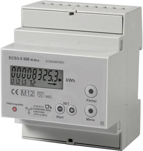Drehstromzähler mit Wandleranschluss digital 5 A MID-konform: Ja Janitza ECSEM67MID ../5A M-Bus
