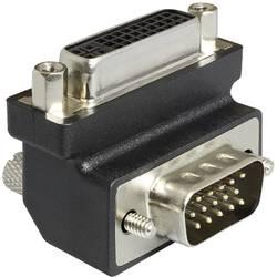 DVI / VGA adaptér Delock 0403314, čierna