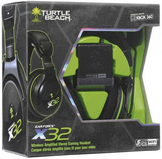 Turtle Beach Gaming Headset X32 für XBox360