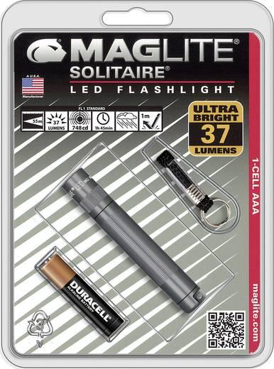 LED Mini-Taschenlampe mit Schlüsselanhänger MAG LED Technology Schlüsselanhängerleuchte Solitaire batteriebetrieben 37 l