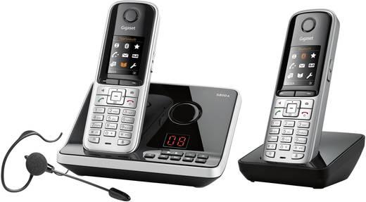 schnurloses telefon analog gigaset s810a duo mit headset. Black Bedroom Furniture Sets. Home Design Ideas