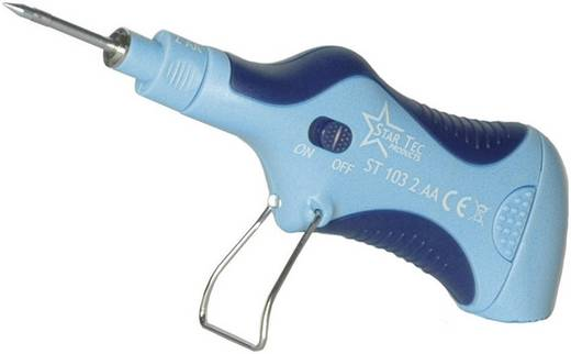 Lötkolben 3 V 6.5 W Star Tec ST 10302 Bleistiftform +165 bis +480 °C Akkubetrieben