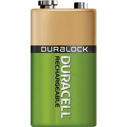 Akumulátor Duracell 9 V, NiMH, 170 mAh
