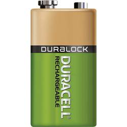 Image of Duracell 6LR61 9 V Block-Akku NiMH 170 mAh 8.4 V 1 St.