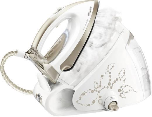 Dampfbügelstation Philips PerfectCare Silence GC9540/02 2400 W Weiß, Beige