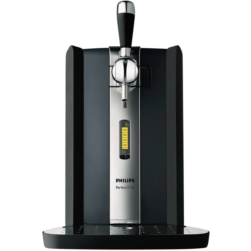 Draught beer system Philips PerfectDraft Black, Stainless steel from ...