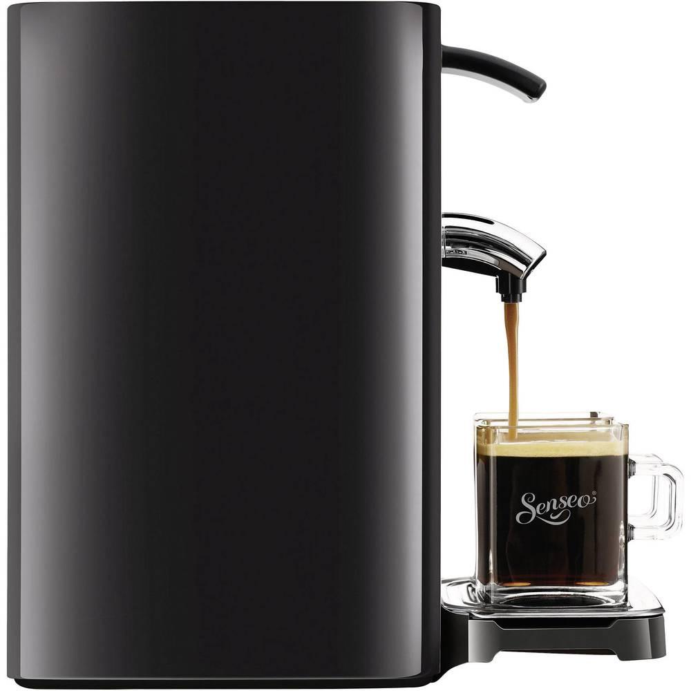 senseo quadrante schwarz hd7863 60 pod coffee machine black from conrad electronic uk. Black Bedroom Furniture Sets. Home Design Ideas