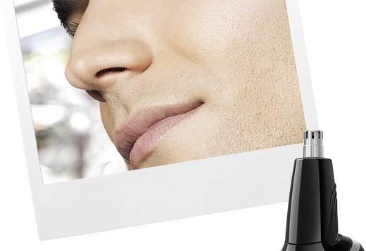 Haarschneider, Bartschneider, Ohr-, Nasenhaartrimmer Philips QG3340/16 abwaschbar Schwarz, Orange