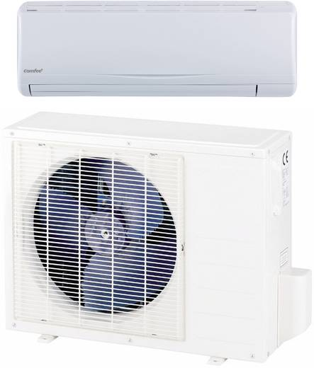 Inverter Split-Klimagerät EEK Heizen/Kühlen: A+/A++ 2600 W 40 m² Comfee by Midea MSR23-09HRDN1-QE Weiß