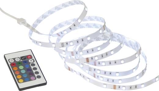LED-Streifen-Komplettset mit Stecker 230 V 300 cm Warm-Weiß Brilliant set G93932A72