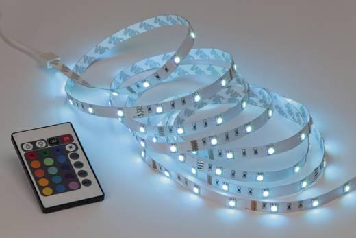 Brilliant set G93932A72 LED-Streifen-Komplettset mit Stecker 230 V 300 cm RGB