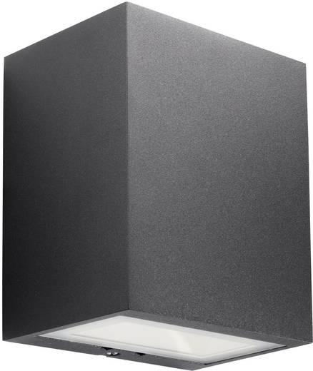LED-Außenwandleuchte 3 W Warm-Weiß Philips Lighting Ledino 17209/30/16 Schwarz