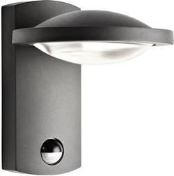Applique murale LED extérieure avec détecteur de mouvements Philips Lighting Ledino 17239/93/16 LED intégrée anthracite