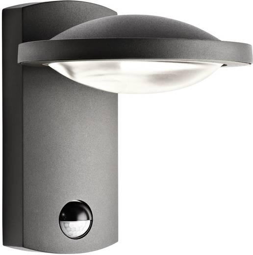 LED-Außenwandleuchte mit Bewegungsmelder 3 W Warm-Weiß Philips Lighting Ledino 17239/93/16 Anthrazit