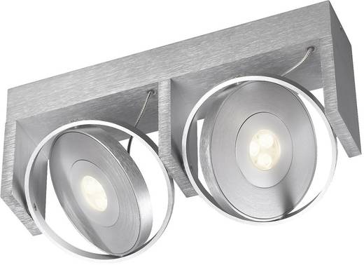led deckenstrahler 15 w warm wei philips ledino 53152 48 16 aluminium. Black Bedroom Furniture Sets. Home Design Ideas