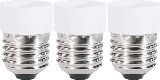 Lampenfassung-Adapter E27 auf GU10 3er Set Renkforce 97029c81e 230 V 75 W
