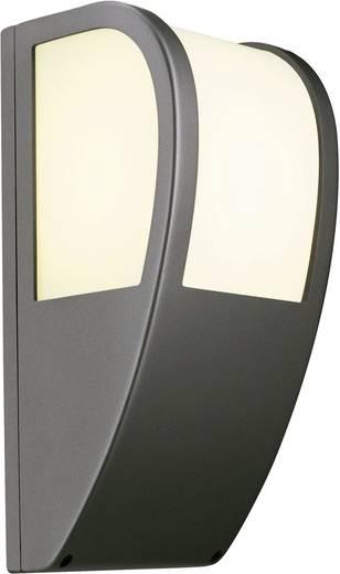 Außenwandleuchte Energiesparlampe, LED E27 24 W SLV Keras 227176 Anthrazit