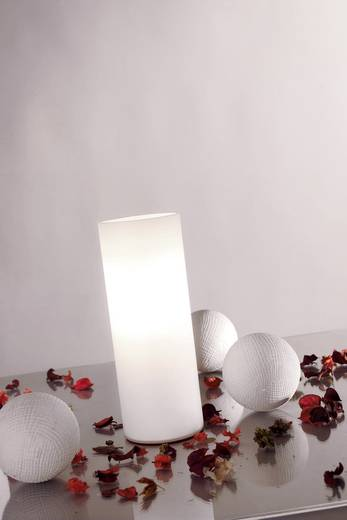 Tischlampe Halogen E14 40 W Paulmann Noora 77010 Opal