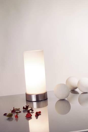 Tischlampe Halogen E14 40 W Paulmann Pinja 77029 Chrom, Opal